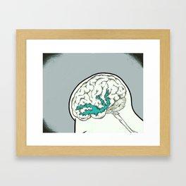 Mindful(l) of Dopamine Framed Art Print