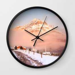 Follow the path Wall Clock