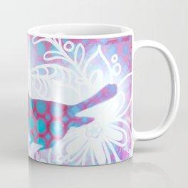 Blue and Purple little birdy Coffee Mug