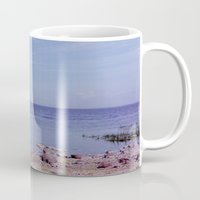finland Mugs featuring Gulf of Finland by beefscherry