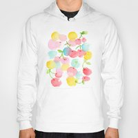 cherry blossom Hoodies featuring cherry blossom by zeze