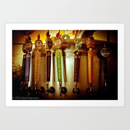 Long Trail Brewery  Art Print