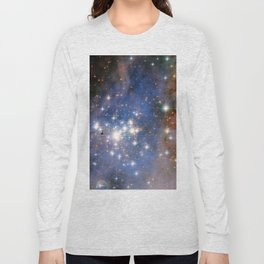 Star cluster Trumpler 14 in the Milky Way (NASA/ESA Hubble Space Telescope) Long Sleeve T-shirt