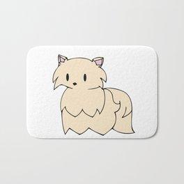 Golden Pomeranian Bath Mat