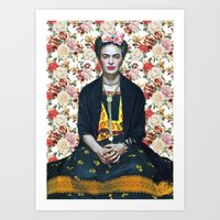 frida kahlo Poster Art Print