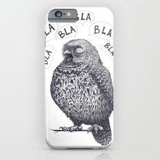 Owl bla bla bla Slim Case iPhone 6s
