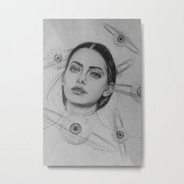 Planet Eyeball Metal Print