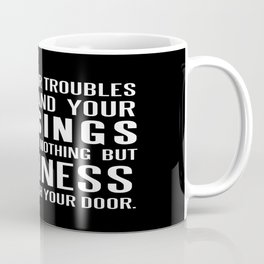 Irish Blessing..May your troubles be less Coffee Mug