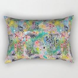 Garden Fantasy Rectangular Pillow