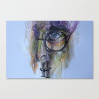harry potter Canvas Prints featuring POTTER by Frageroux