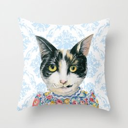 Newtown Nelly Throw Pillow
