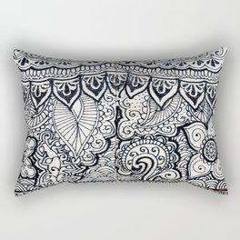 Four sides of a box (i) Rectangular Pillow