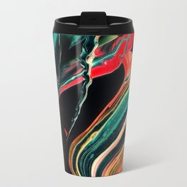 ABSTRACT COLORFUL PAINTING II-A Travel Mug