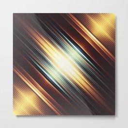 Fractality - Grinder Metal Print
