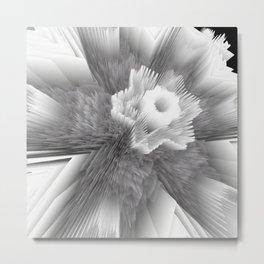 Random 3D No. 2058 Metal Print