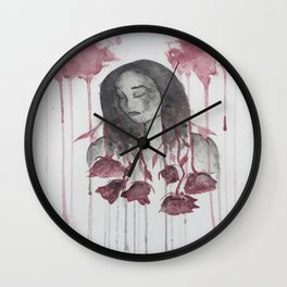 The Sharpest Rose Wall Clock