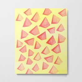 Triangle Mad Metal Print