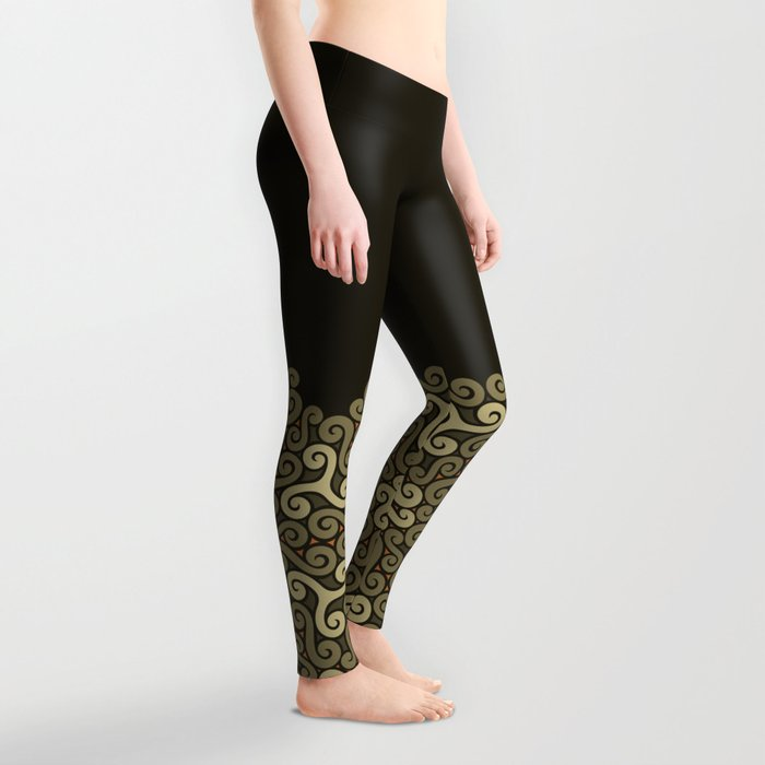 tendrils pattern Leggings