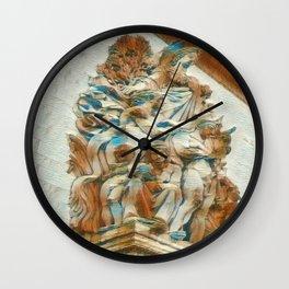 Sculpture - Paris France - Arc de Triomphe Wall Clock