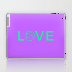 Basketball Love Laptop & iPad Skin