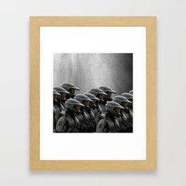 The Halo Army Framed Art Print