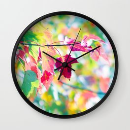 Autumn whispering Wall Clock