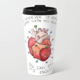 Voodoo Heart Metal Travel Mug