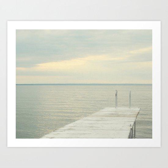 Dock Art Print