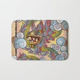 Quetzalcóatl, Lord Of The Wind Bath Mat
