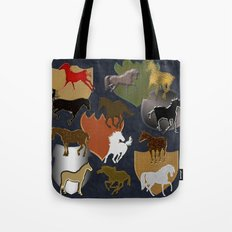 Horsing Around with Heraldry Tote Bag