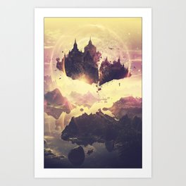 Memories of Gondoa Art Print
