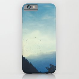 Beautiful Mountain Morning iPhone Case