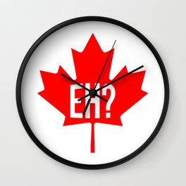 Canadian, eh? Wall Clock
