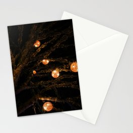 lit up for Christmas Stationery Cards