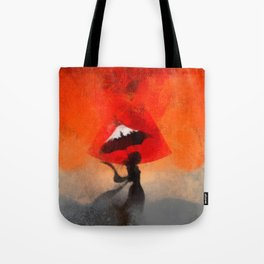 umbrellaliensunshine: atomicherry summer! Tote Bag