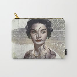 Queen of Egypt / Surrealism Carry-All Pouch