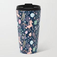 Unicorns in Hesperides Travel Mug