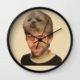 Doghair Beans Wall Clock