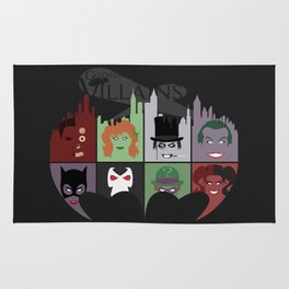 Gotham Villains Rug