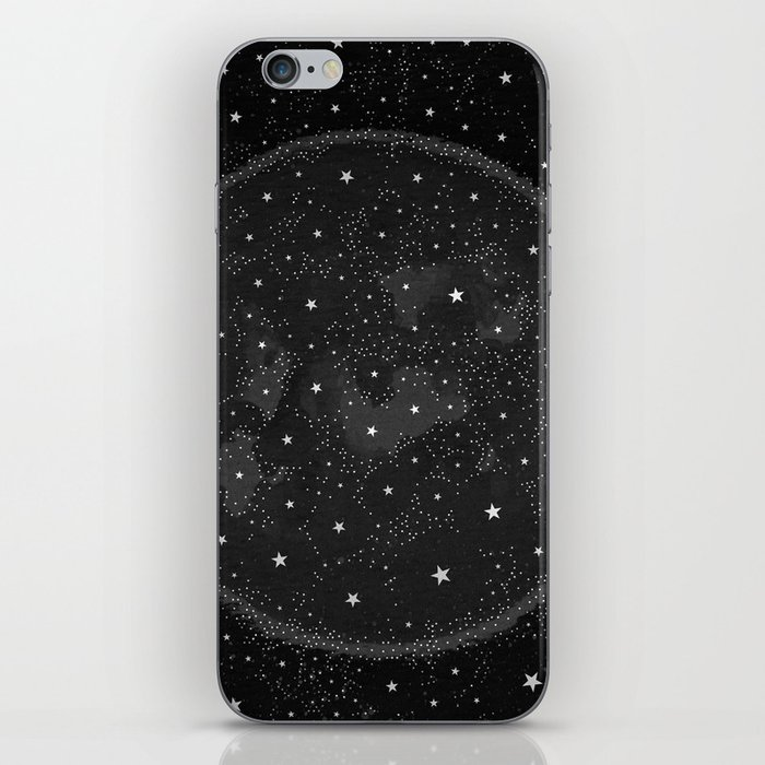 Starry Boho Moons iPhone Skin