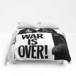 Darth Vader with Yoko Ono Comforters