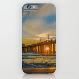 Cold Sunset iPhone Case