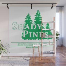 Shady Pines Ma! Wall Mural