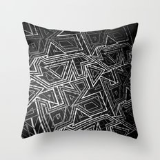 arcade (monochrome series) Throw Pillow