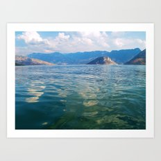 Smooth Waters Art Print