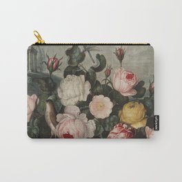 Thornton, Robert John (1768-1837) - The Temple of Flora 1807 - Roses Carry-All Pouch