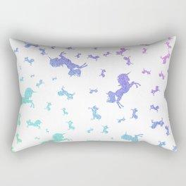 Majestic AF- white Rectangular Pillow