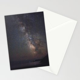 Acadia National Park milky way Stationery Cards