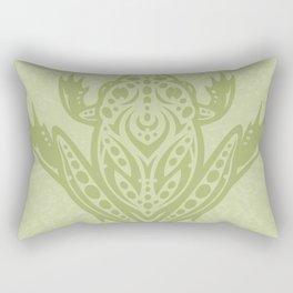 Tribal Leopard Frog Rectangular Pillow