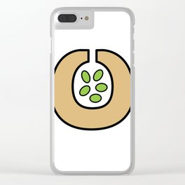Ceramic Vessel with Beans Clear iPhone Case